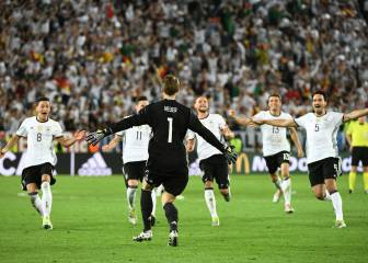 Germany secure semi spot after sudden-death penalty shoot-out