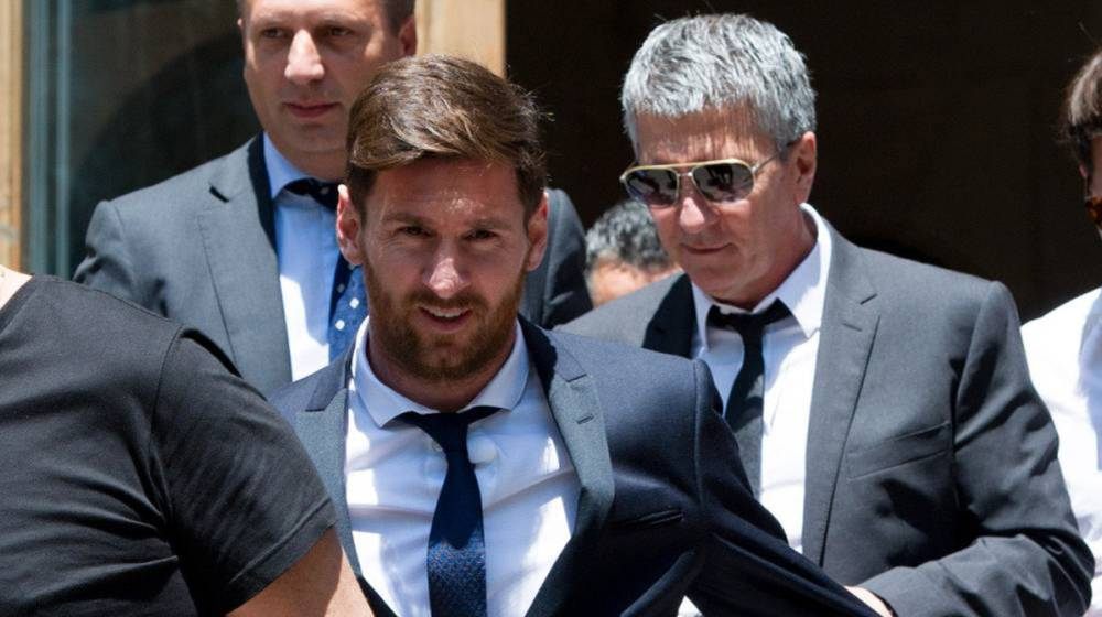 father his case | Messi to sentenced  21 Messi months and