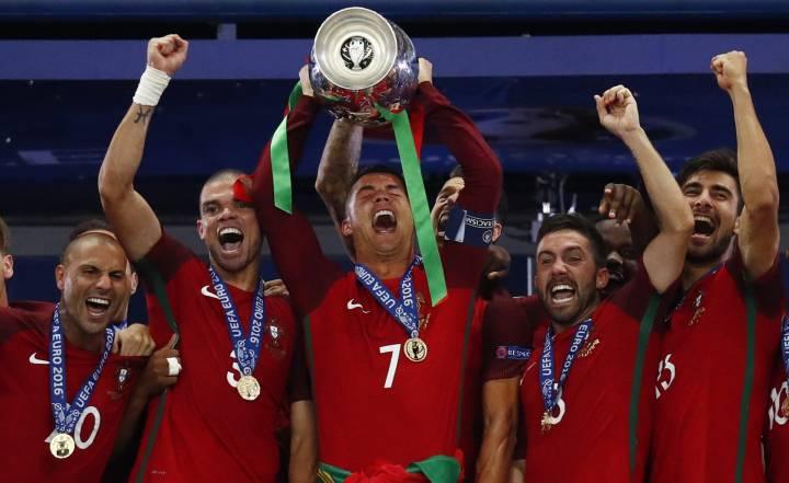 Portugal V France Euro 2016 Final Result Match Report As Com