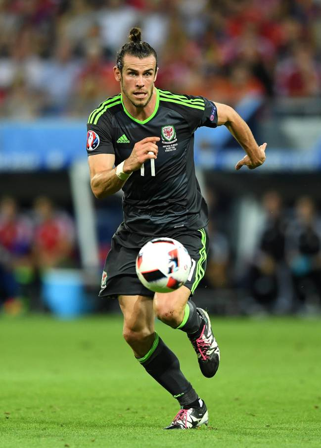 Gareth Bale leading by example for Wales.