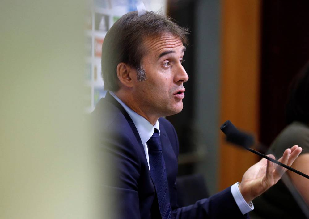 New Spain coach Lopetegui promises evolution not revolution
