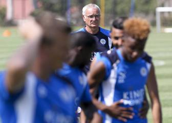 Top flight survival is Leicester's first priority says Ranieri