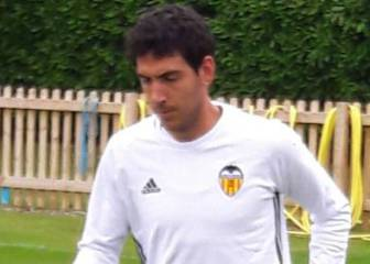 Parejo forced to train alone