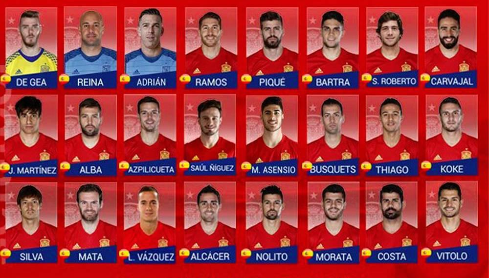 Spain | Lopetegui leaves out Casillas, but calls up