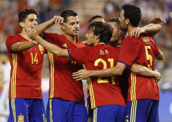 Spain begin Lopetegui tenure with dominant win in Belgium