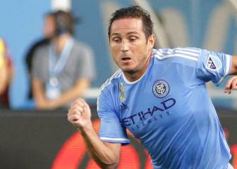 Lampard double sends NYCFC top of Eastern Conference