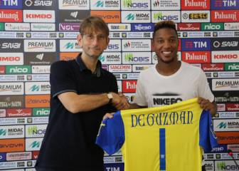 Midfielder De Guzman to wear number '1' shirt at Chievo