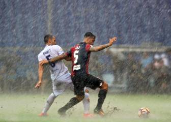 Torrential weather disrupts Serie A fixtures