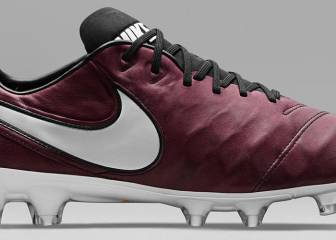 Nike launch Andrea Pirlo Merlot coloured Tiempo boots