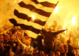Striking scenes as Partizan win 152nd Belgrade derby