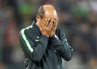 Werder Bremen hand Skripnik his marching orders