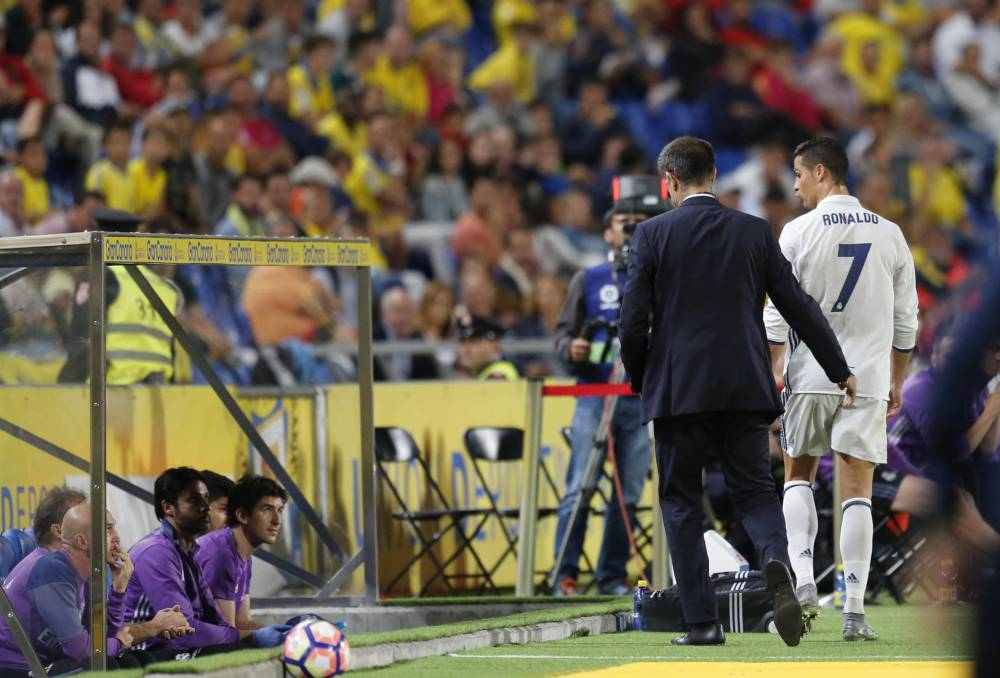 Foul-mouthed Ronaldo explodes when subbed against Las Palmas