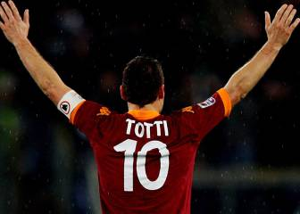 Bolt, Messi pay tribute to Roma legend Totti as he turns 40