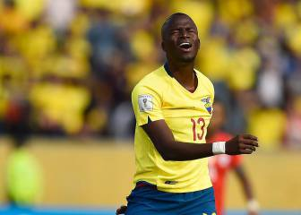 Enner Valencia hits out at