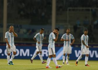 Argentina fall to shock home defeat as Brazil move top