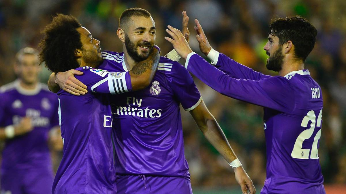 Real Betis - Real Madrid live: matchday 8 2016/17 LaLiga Santander at 20:45 CEST on Saturday 15/10/2016 with AS English.