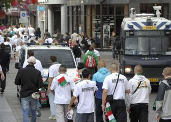 Three Polish fans arrested in Madrid city centre
