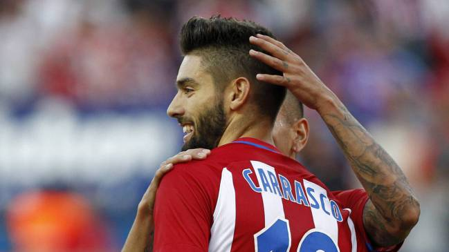 carrasco agrees new atlético madrid contract as com