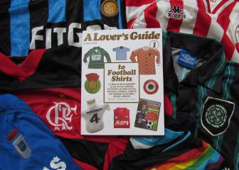 The greatest football shirts of all time compiled in new book