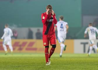 Leverkusen dumped out of the German Cup by third tier Lotte