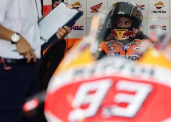 Márquez forgets tummy woes to log best practice time