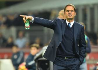 Frank de Boer on the brink after another Inter loss
