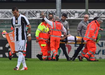 Barzagli to spend two months on the sideline with injury