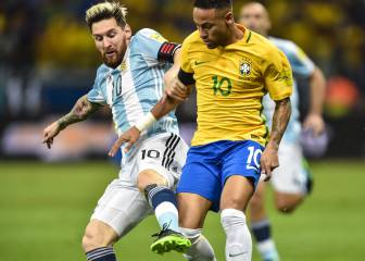 Neymar outshines Messi as Brazil punish Argentina