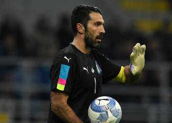 Buffon earns Euro record-equalling 167th cap and stalemate in Lens