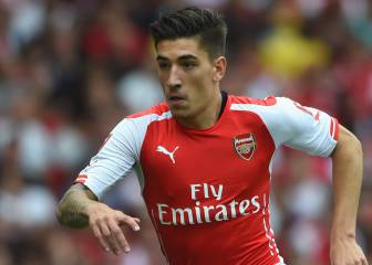 Hector Bellerín ruled out for four weeks with ankle injury