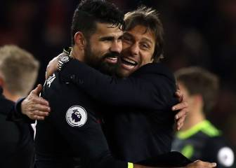 Costa winner sees Chelsea move top of Premier League