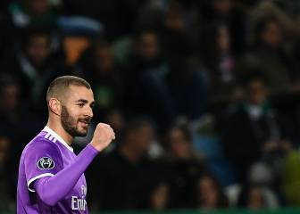 Real into last 16 as Benzema keeps holders in top-spot hunt