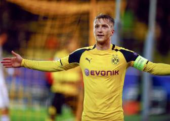 Reus, radiant after hitting a hat trick on his return