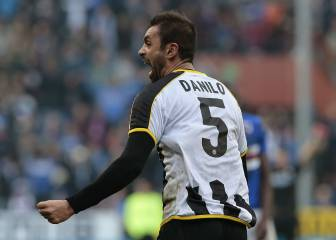 Udinese captain Danilo injures 3 teammates in