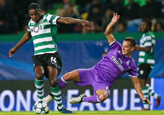 William Carvalho could be on Real Madrid's agenda this winter.