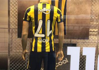 Fenerbahce to sell overhead kick expert jerseys upside down