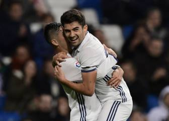 Real Madrid do the job with Mariano hat-trick, Enzo goal