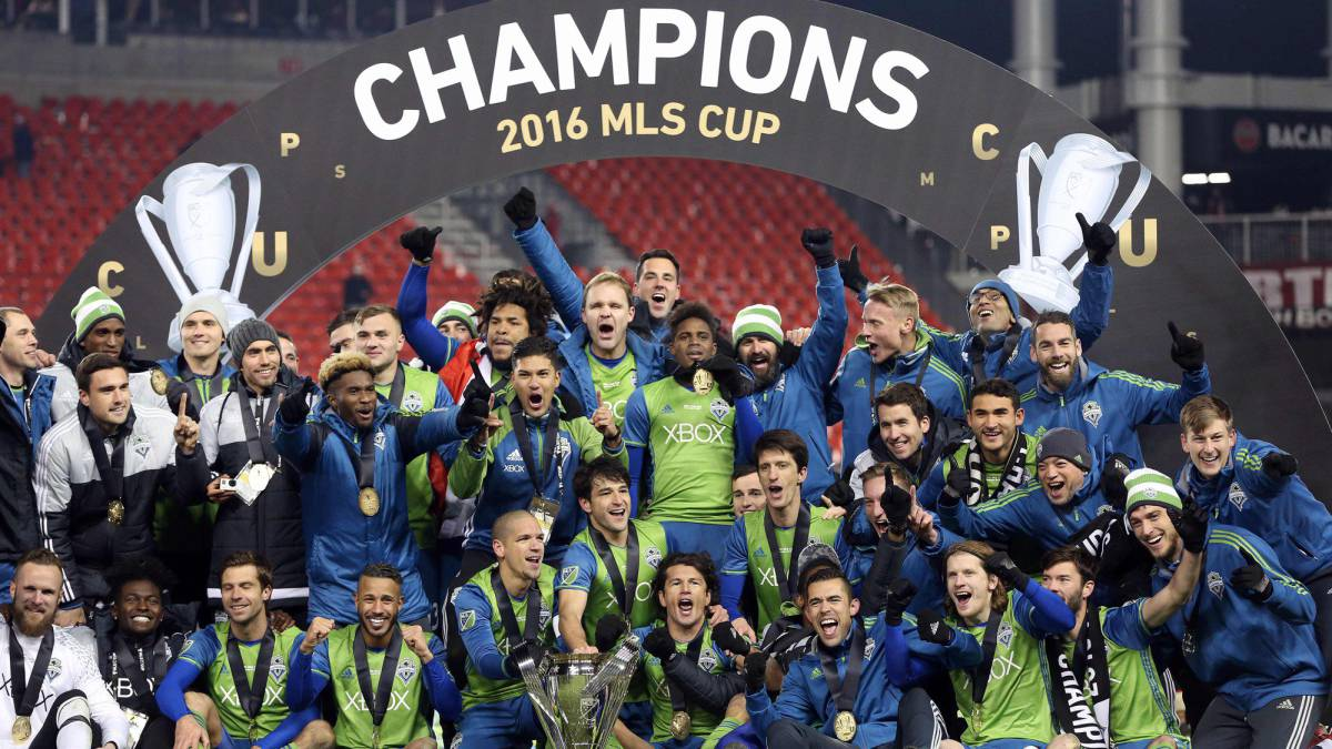 Seattle defy the odds to lift first MLS title in Toronto