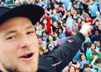The John Guidetti Techno song sung on his visit to Viga school
