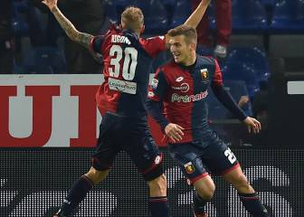 Genoa beat Fiorentina in clash that began three months ago