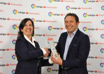 Real Sociedad's Eusebio awarded manager of the month