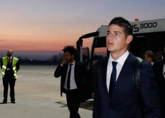 Five possible destinations for James Rodríguez