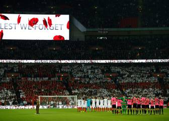 Fifa fine British FAs for poppy tributes to war dead