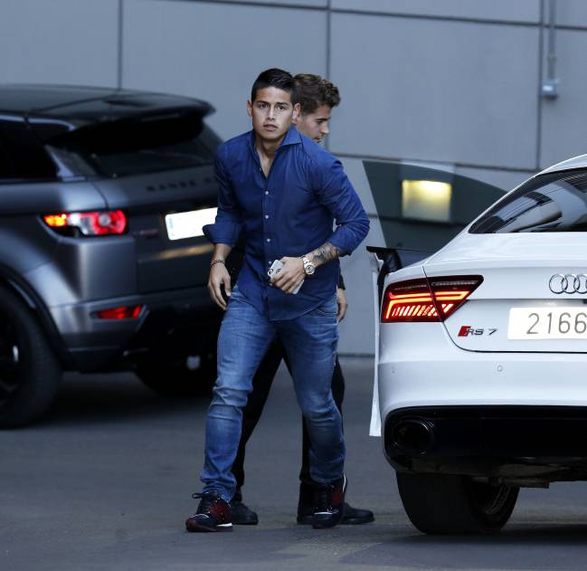 Transfer Market Real Madrid S 570m Euros For: Monaco Forced To Pay Millions In Tax To Spain Over James