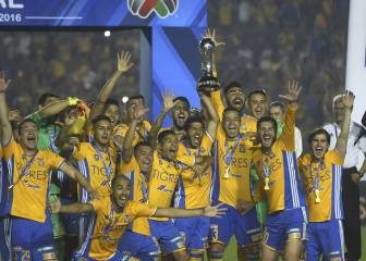 5 sent off as Tigres win Mexican Apertura on penalties