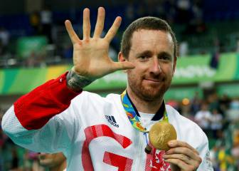 Bradley Wiggins brings record- breaking career to a close