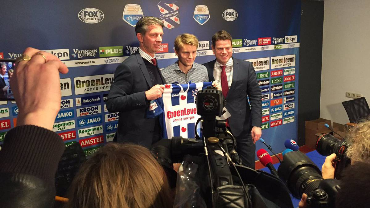 Odegaard: Real Madrid starlet unveiled by SC Heerenveen