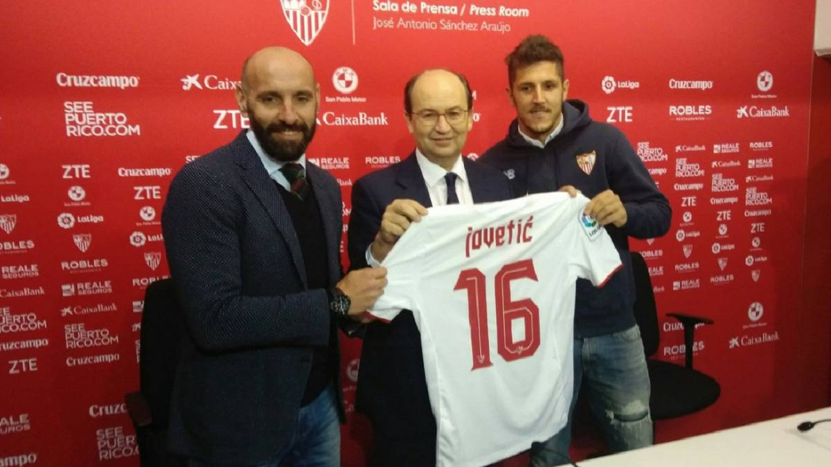Sevilla: ex-Man City Stevan Jovetic signs from Inter Milan