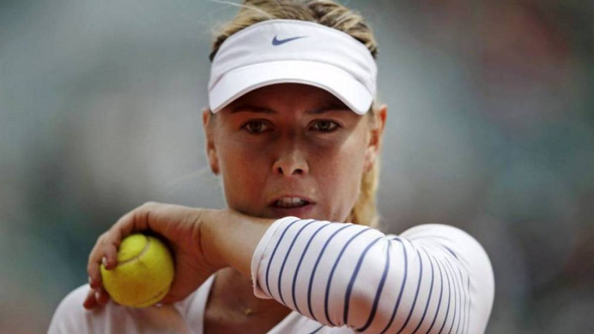 Sharapova announces return date after serving doping ban