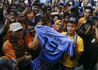 Fifa's goal of the year winner gets Malaysian hero's welcome